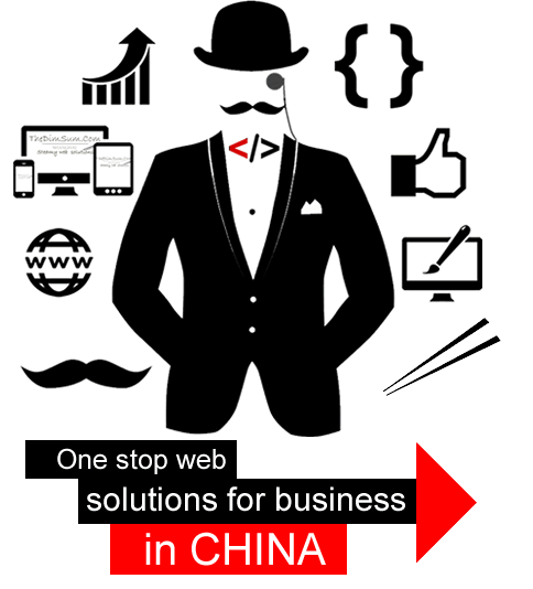 One stop web solutions in China
